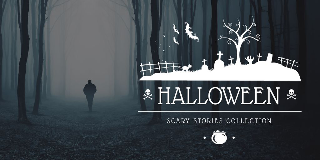 Halloween scary stories collection — Modelo de projeto