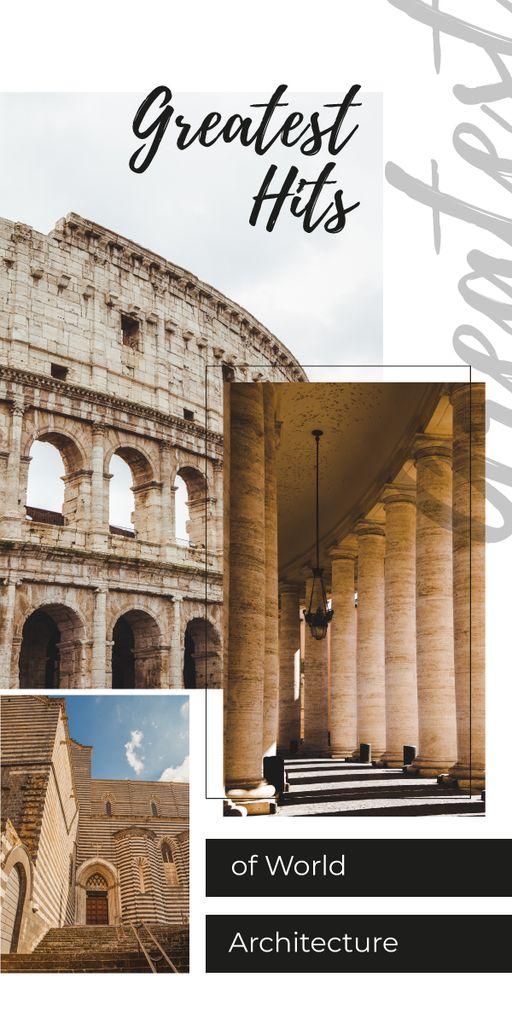 Ancient Colosseum view — ein Design erstellen