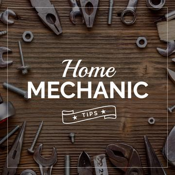Home mechanic tips poster