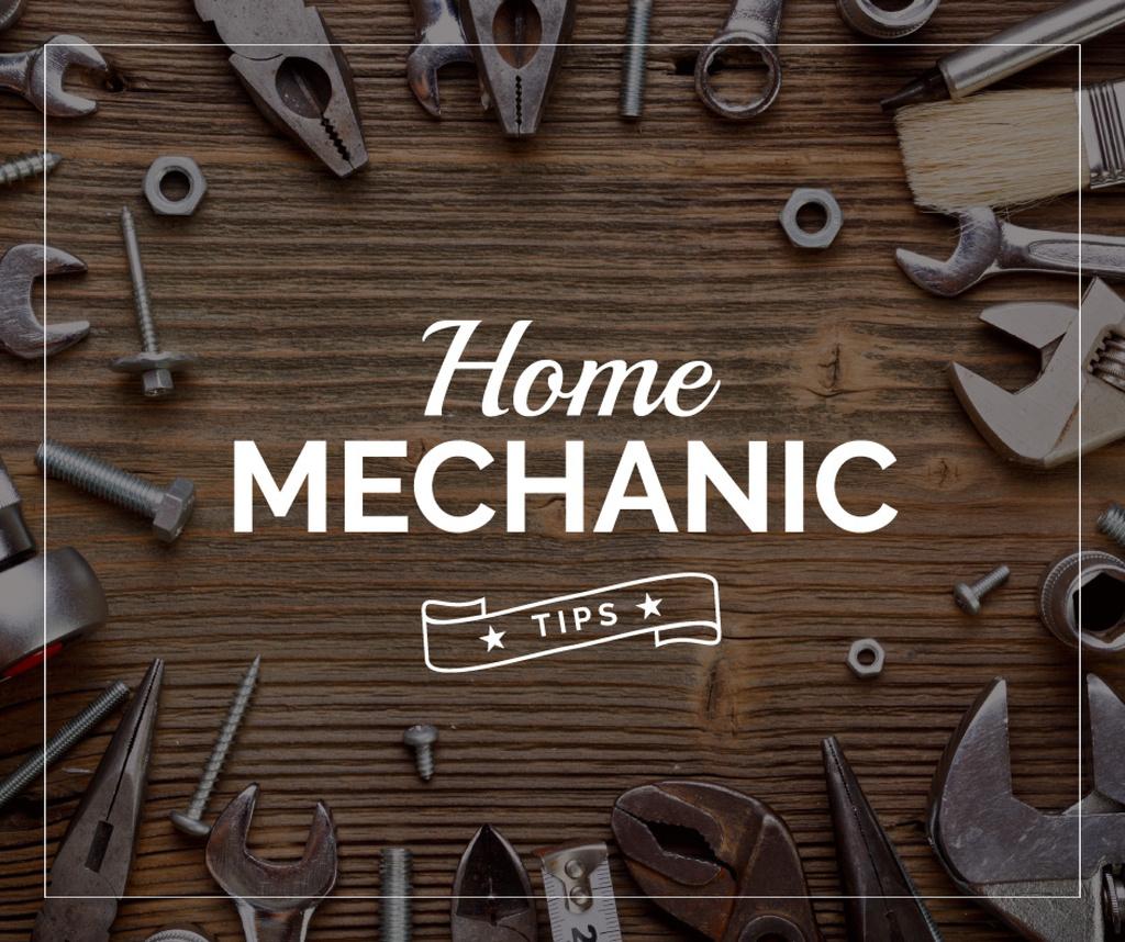 Home Mechanic Tools and Equipment — ein Design erstellen