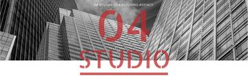 Building Agency Ad Modern Skyscrapers