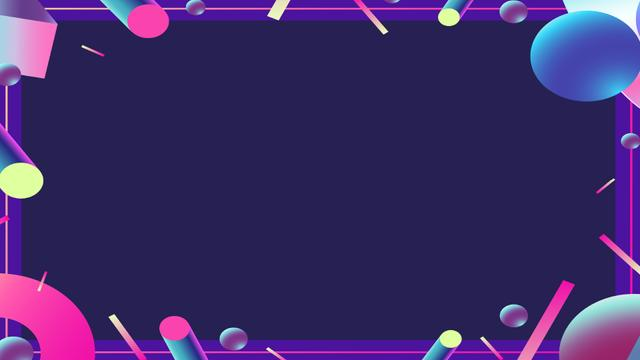 Bright Digital elements frame Zoom Background – шаблон для дизайну
