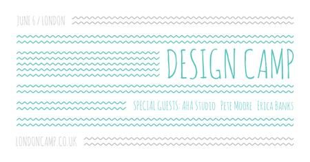 Plantilla de diseño de Design camp in London Facebook AD