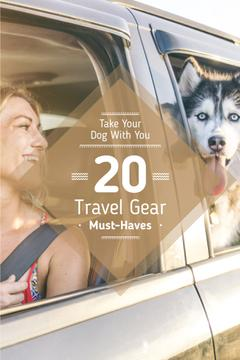 Travel with pet poster