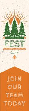 Forest fest banner