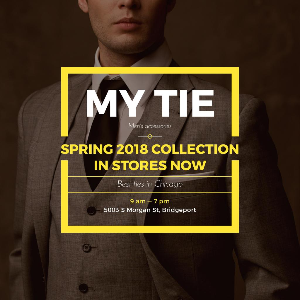 My tie store in Chicago — Create a Design