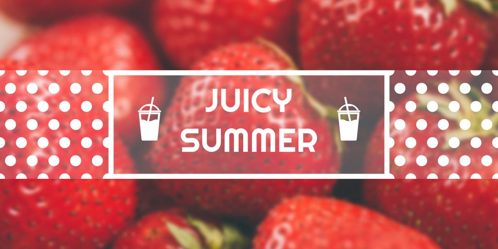 Juicy summer banner — Створити дизайн