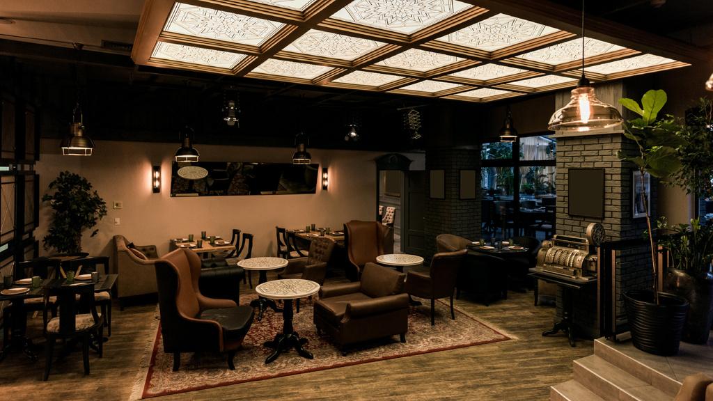 Authentic Design of Cafe lounge — Crea un design