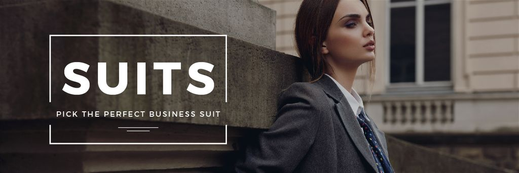 Business suits sale — Створити дизайн