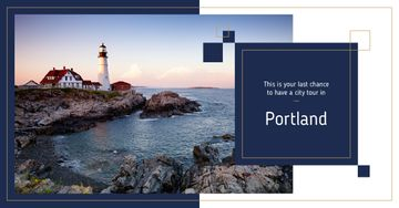 Portland city lighthouse