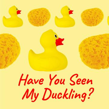 Rubber Ducks and Sponges in Yellow