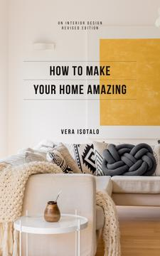 Home Styling Guide Cozy Interior in Light Colors | eBook Template