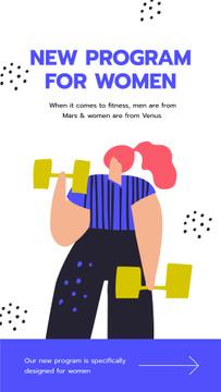Fitness program for Women ad