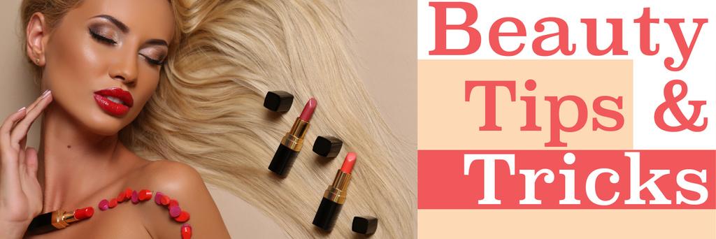 Beauty tips & tricks poster - Bir Tasarım Oluşturun