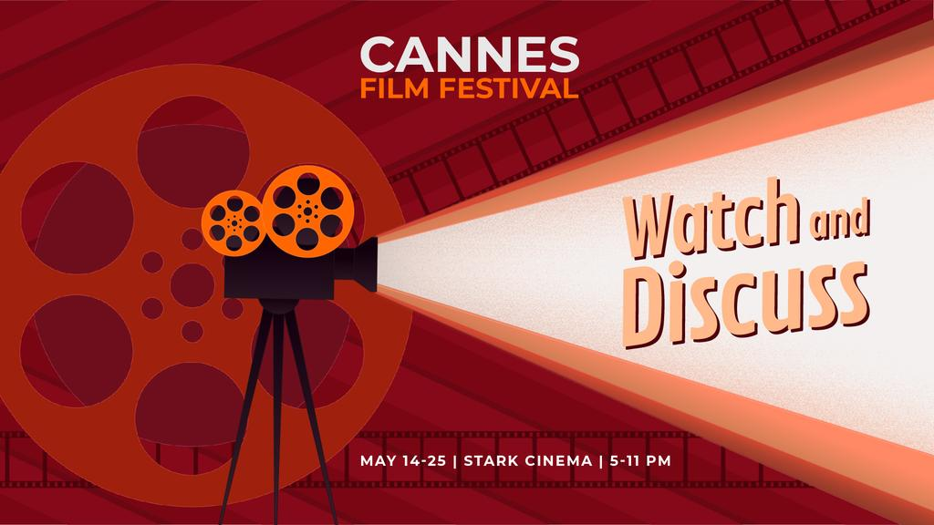 Cannes Film Festival poster — Створити дизайн