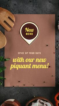 New Piquant Menu Offer