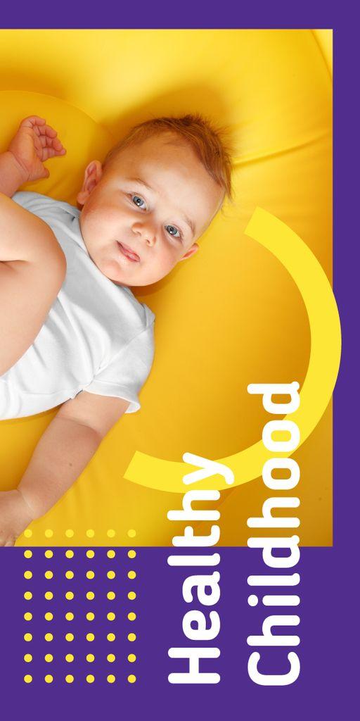 Cute happy baby — Crear un diseño