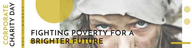 Szablon projektu Corporate Charity Day Twitter