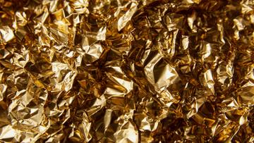 Shiny Golden Foil