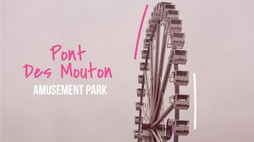 Rotating Ferris wheel