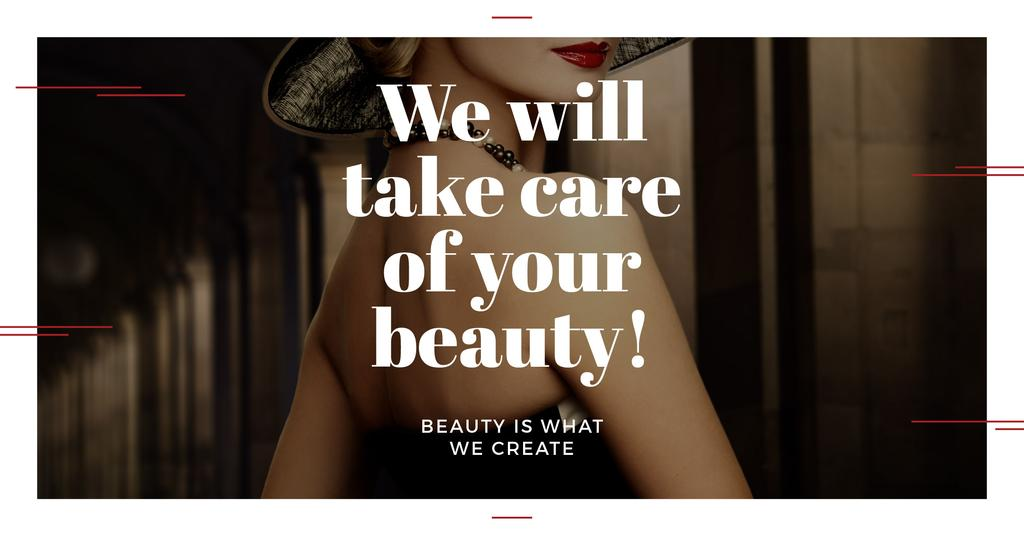 Citation about care of beauty – Stwórz projekt