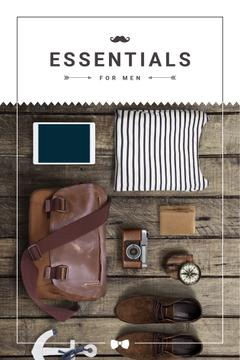 Essentials for men poster