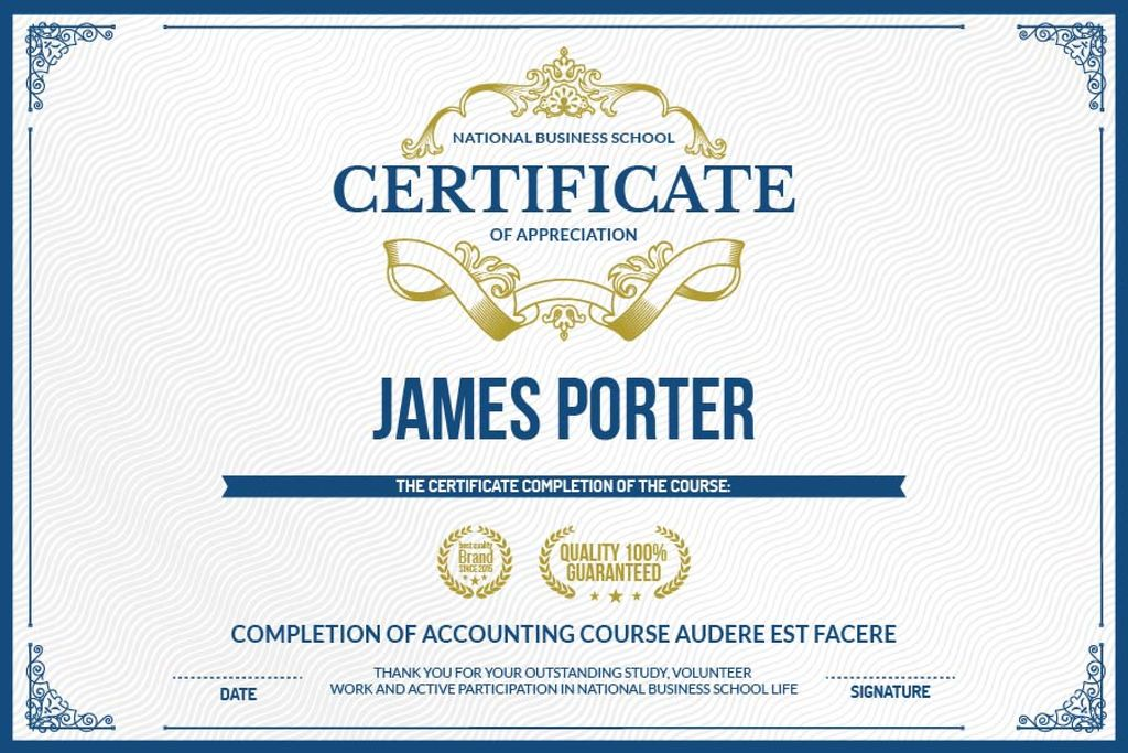 Certificate of appreciation template gift certificate template certificate of appreciation template design template yadclub Image collections