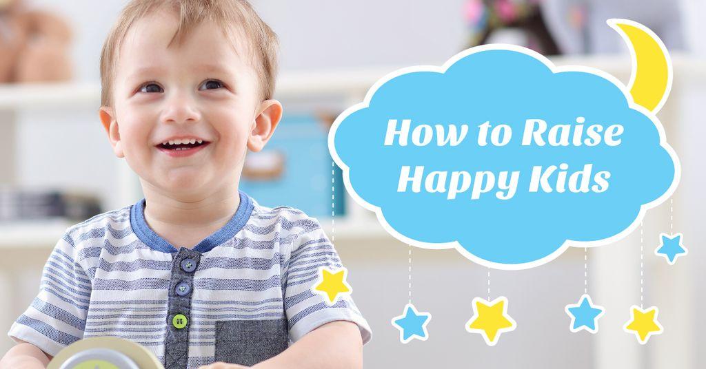Happy little kid — Create a Design