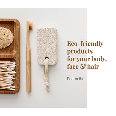 Template di design Eco products for Body Offer Instagram AD