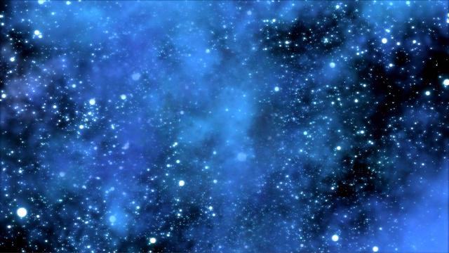 Plantilla de diseño de Floating Constellations in Space Zoom Background
