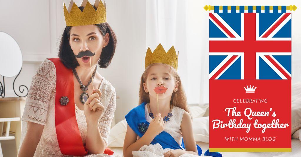 The Queen's Birthday Celebration — Maak een ontwerp