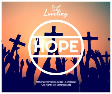 Hope religious poster