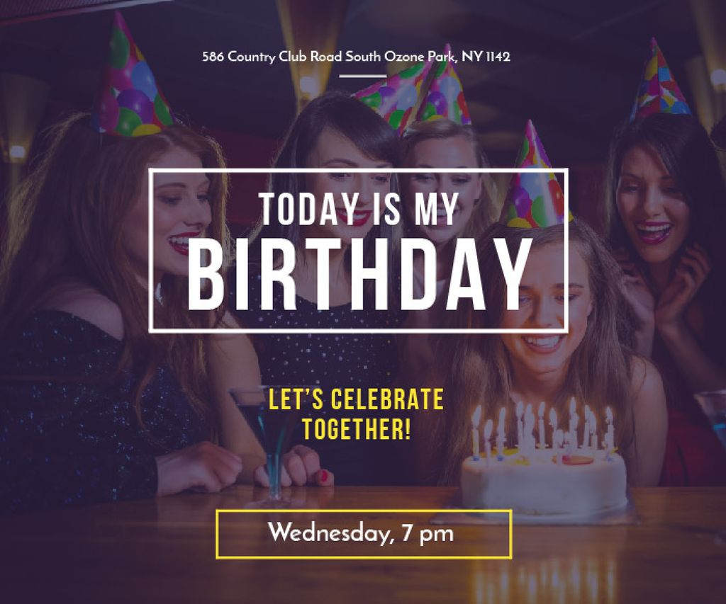 Birthday party in South Ozone park — Create a Design