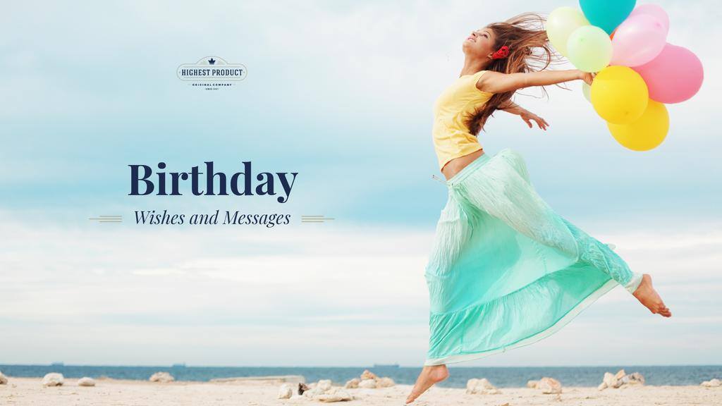 Birthday wishes and messages — Create a Design
