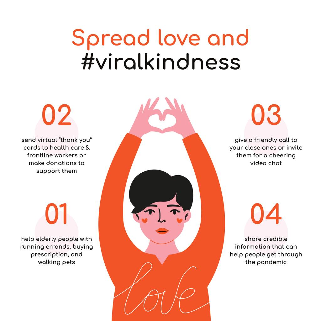 #ViralKindness Help Offer during Quarantine — Crea un design