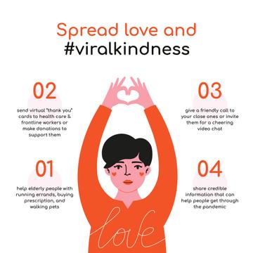 #ViralKindness Help Offer during Quarantine