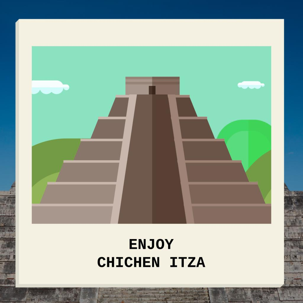 Chichen Itza showplace — Crea un design