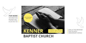 Baptist Church Invitation with Prayer