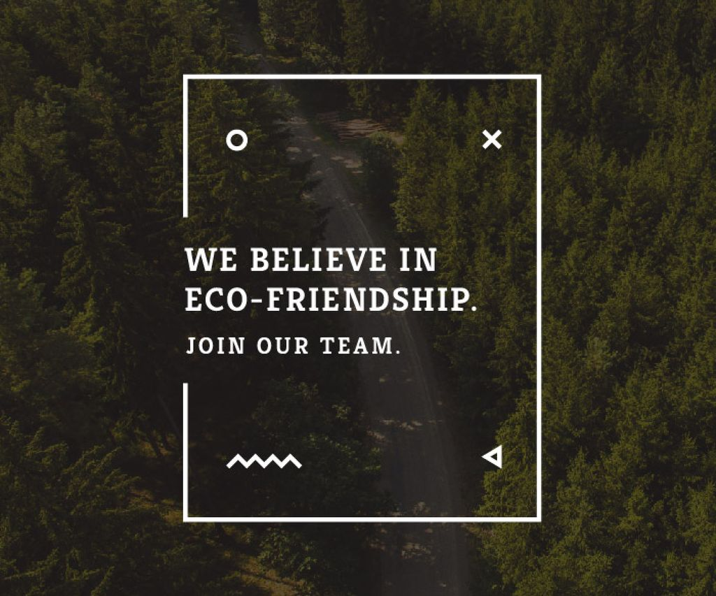 Eco-friendship concept — Crea un design