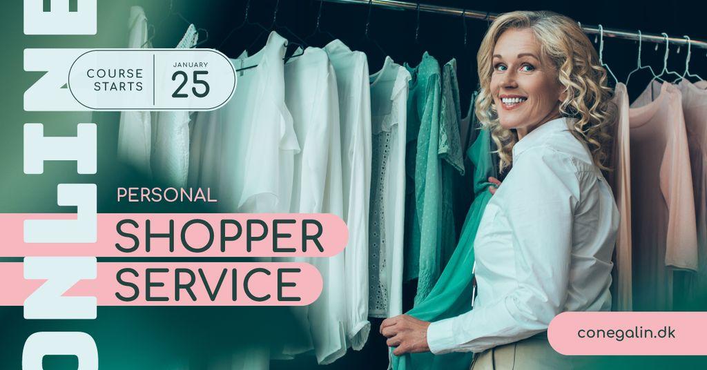 Personal Stylist Services Woman by Wardrobe Facebook AD – шаблон для дизайна