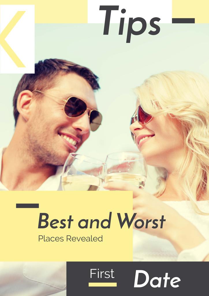 Best and Worst places revealed — Crea un design