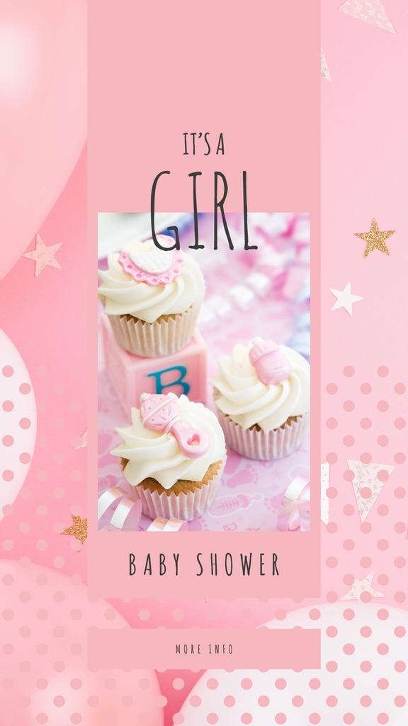 Pink cupcakes for party - Vytvořte návrh