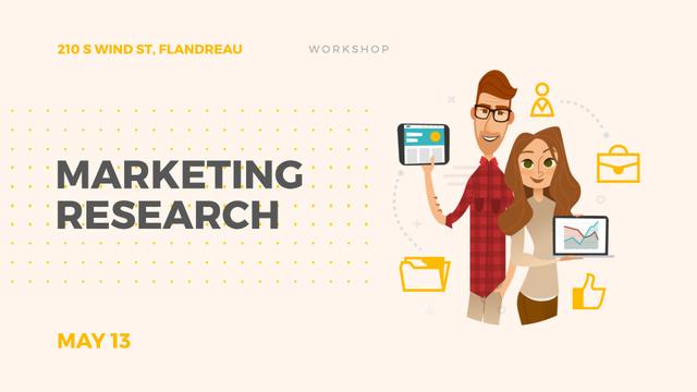 Template di design Research for Business Colleagues Presenting Report Full HD video