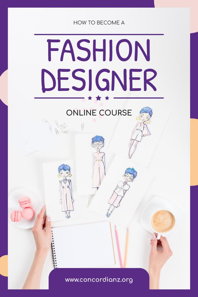 Fashion Design Online Courses with Collection of Drawings — Create a Design