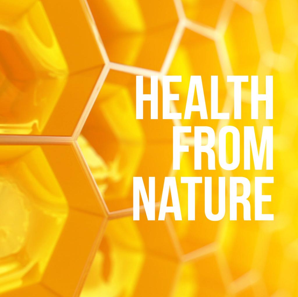 Golden honey combs — Create a Design