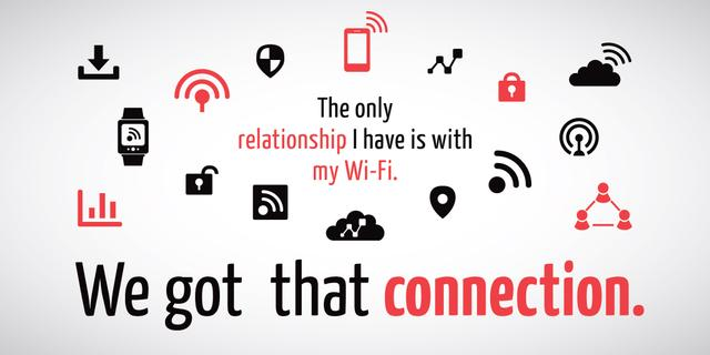 Wi-fi connection icons Twitter – шаблон для дизайна