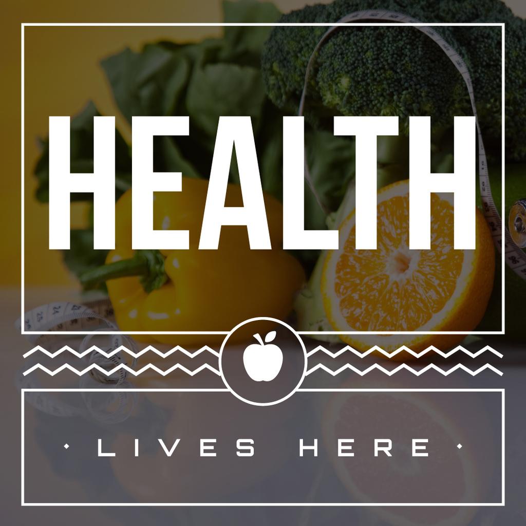 Healthy nutrition concept  — Створити дизайн
