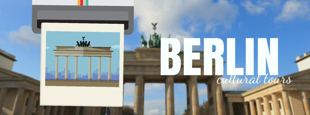 Berlin famous travelling spot — Créer un visuel