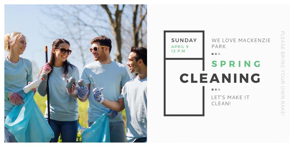 Spring Cleaning in Mackenzie park — Створити дизайн