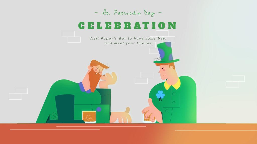 Celebrating Saint Patrick's Day — Crea un design